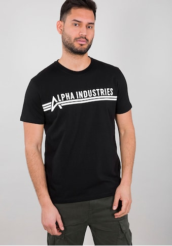 Alpha Industries Rundhalsshirt »ALPHA INDUSTRIES T« kaufen
