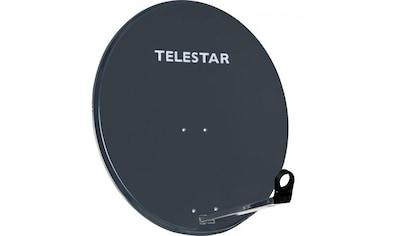 TELESTAR 80 cm Aluminium Sat - Spiegel / Satelliten - Schüssel »DIGIRAPID 80A schiefergrau« kaufen