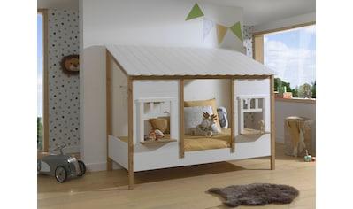 Vipack Hausbett, mit Lattenrost, wahlweise Bettschublade kaufen