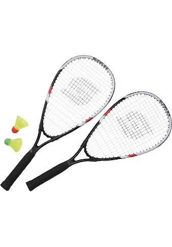 Sunflex Speed - Badmintonschläger »Speed Badminton Sonic« (Set, 5 - tlg., mit Bällen mit Schlägerhülle mit Tasche) kaufen
