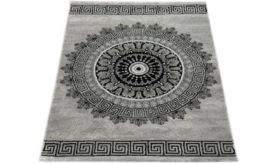 Paco Home Teppich »Tibesti 081«, rechteckig, 16 mm Höhe, Kurzflor, Mandala Muster in... kaufen