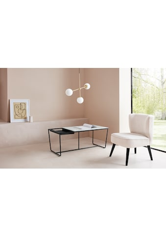 LeGer Home by Lena Gercke Couchtisch »Ellea«, Tischplatte aus Glas, herausnehmbares Tablett kaufen
