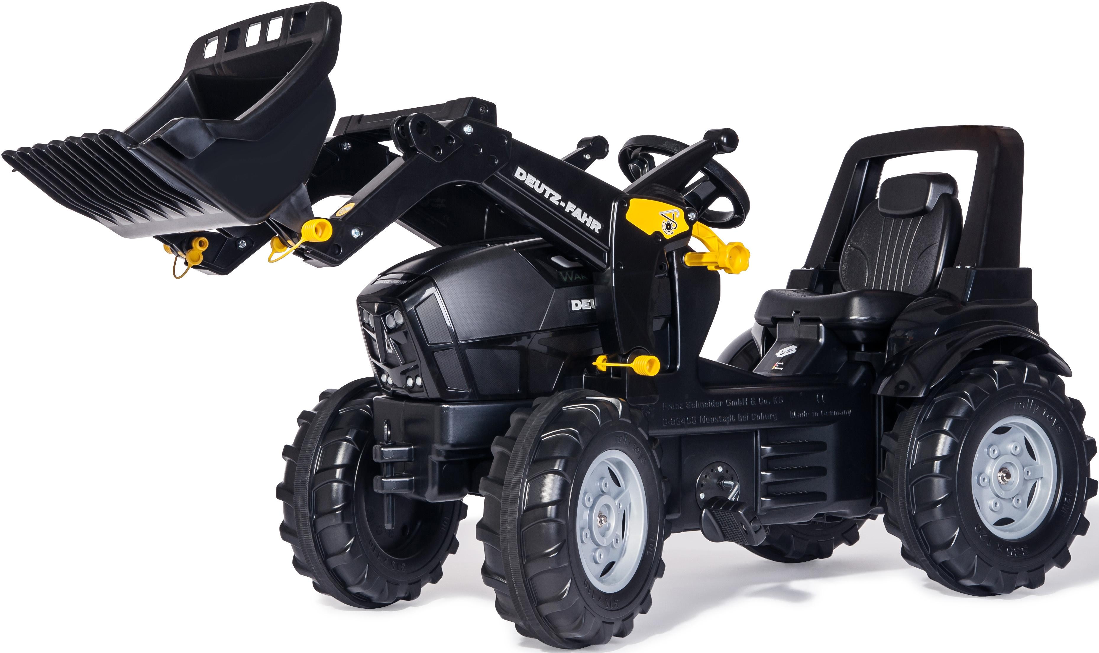 rolly toys® Trettraktor mit Frontlader,  rollyFarmtrac Deutz-Fahr Warrior  Preisvergleich