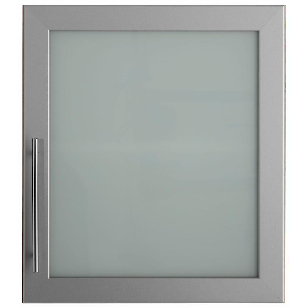 wiho Küchen Glashängeschrank »Aachen«, Breite 50 cm