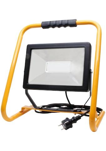 KOPP Flutlichtstrahler Tragbarer 50 Watt LED Baustrahler mit Standgestell kaufen