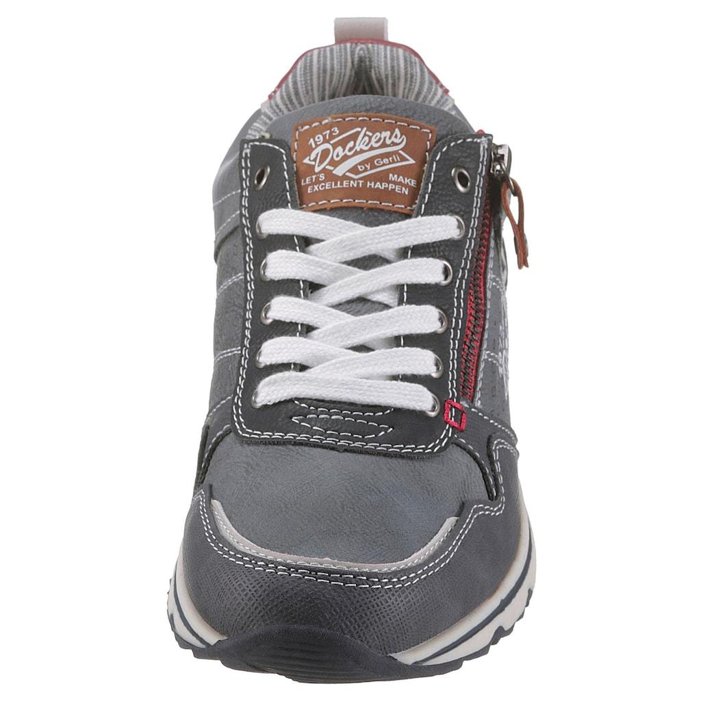Dockers by Gerli Sneaker, mit modischem Zipper