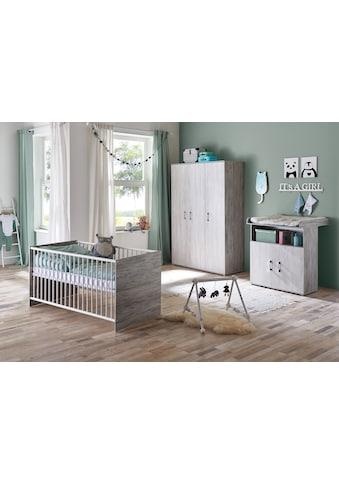 arthur berndt Babyzimmer-Komplettset »Isabella«, (Set, 3 St.), Made in Germany; mit... kaufen