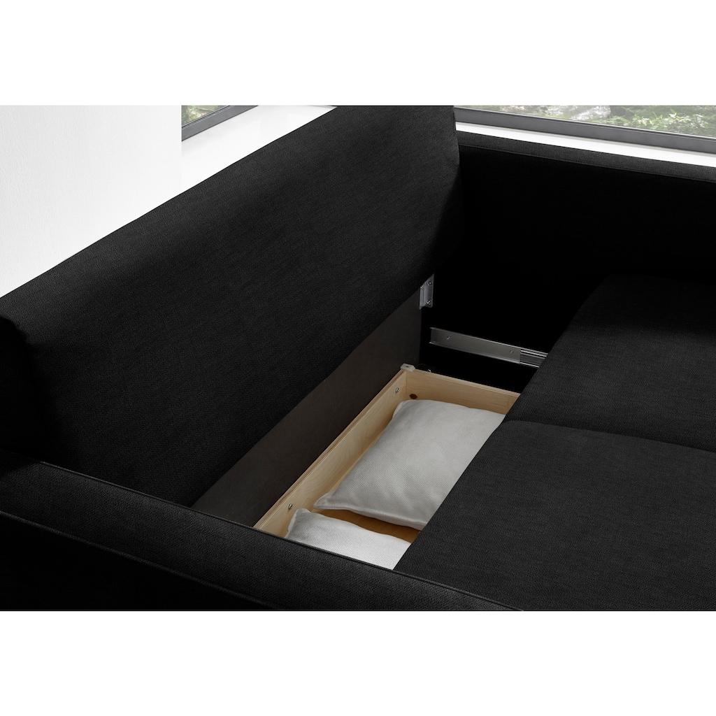 reposa Schlafsofa »Burano«, mit Bettkasten, Liegebreite 140 cm