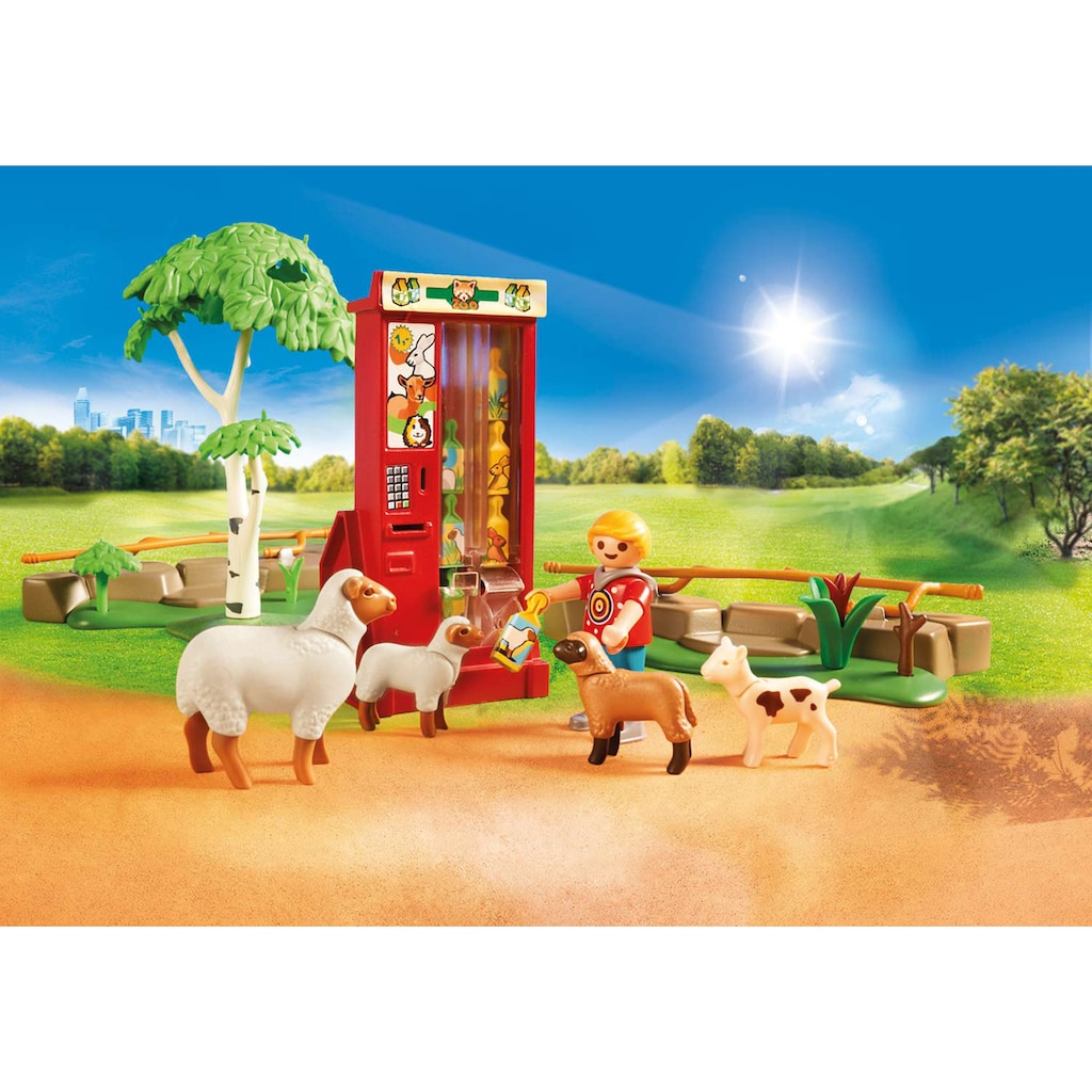 Playmobil® Konstruktions-Spielset »Erlebnis-Streichelzoo (70342), Family Fun«, ; Made in Germany
