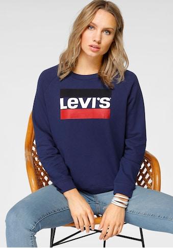Levi's® Sweatshirt »Graphic Sport Sweat«, Großer Logo-Frontprint kaufen