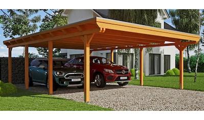 SKANHOLZ Doppelcarport »Emsland«, BxT: 613x846 cm kaufen