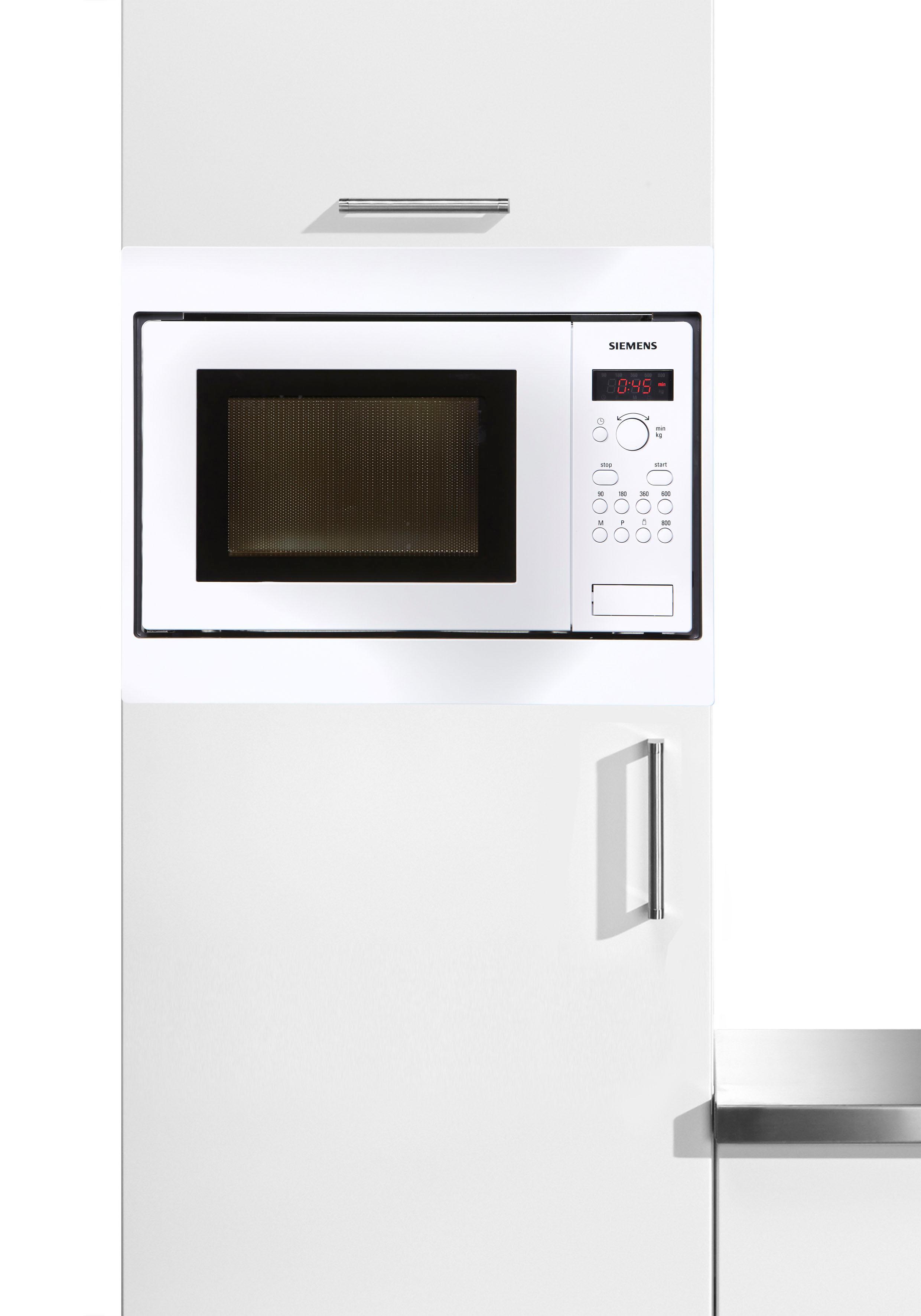 SIEMENS Mikrowelle HF15M251 800 W | Küche und Esszimmer > Küchenelektrogeräte > Mikrowellen | Weiß | Siemens