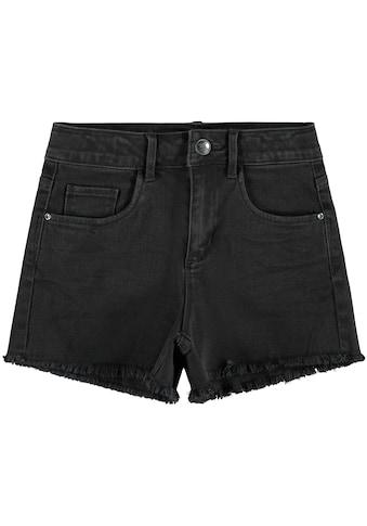 Name It Jeansshorts »NKFRAND«, mit ausgefranstem Saum kaufen