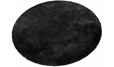 Bruno Banani Hochflor-Teppich »Dana«, rund, 30 mm Höhe, Besonders weich durch... kaufen