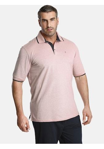 Charles Colby Poloshirt »EARL JACKSON«, mit raffinierten Kontrasten kaufen