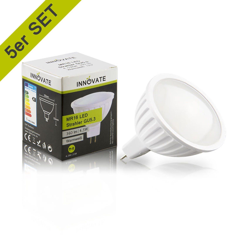 INNOVATE LED-Strahler im 5er-Pack