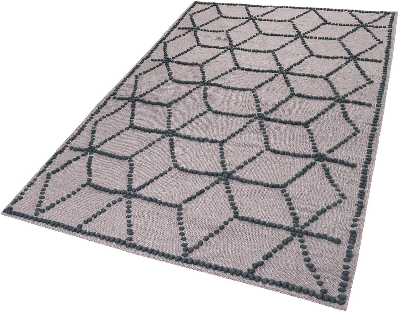 Teppich Fiesta Esprit rechteckig Höhe 5 mm handgewebt