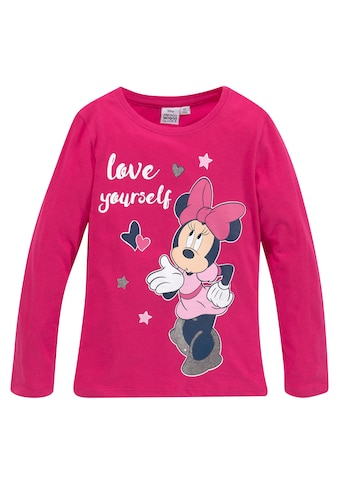 Disney Minnie Mouse Langarmshirt »MINNIE MOUSE« kaufen