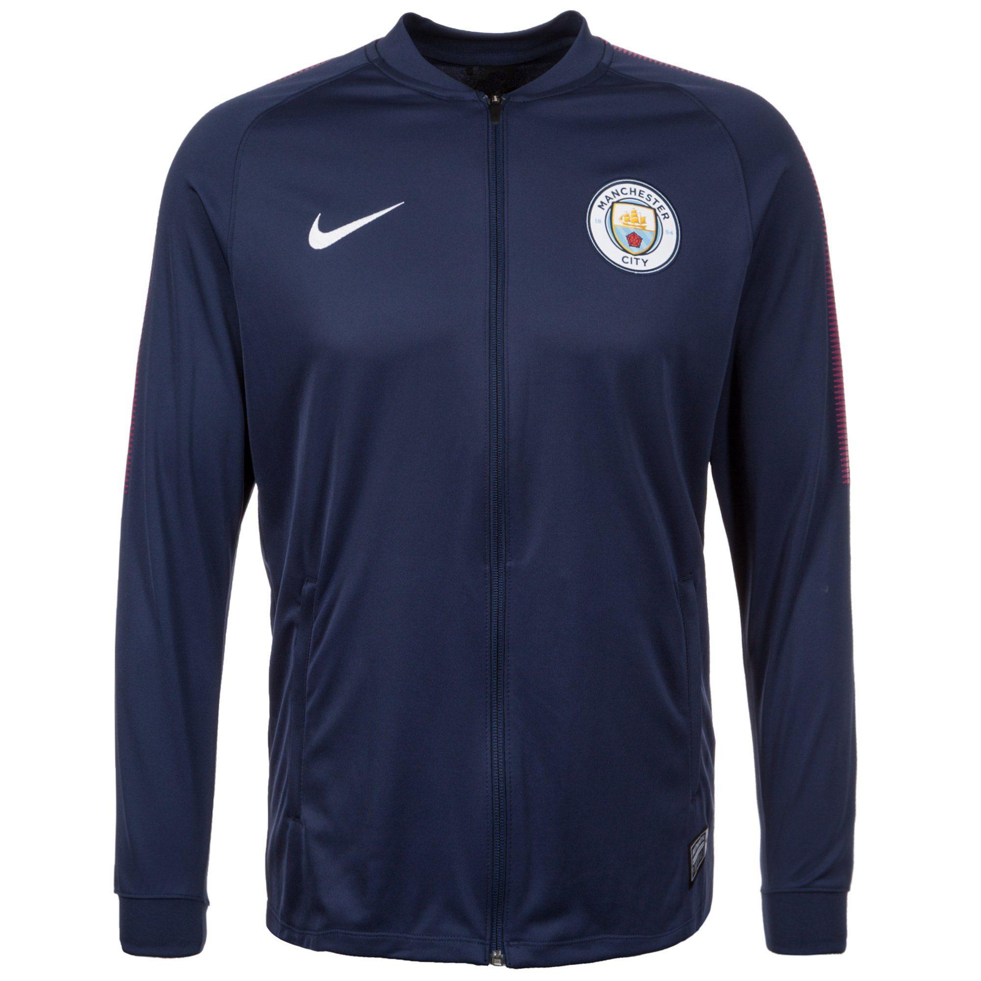 Nike Trainingsjacke Manchester City Dry Squad | Sportbekleidung > Sportjacken > Trainingsjacken | Blau | Nike
