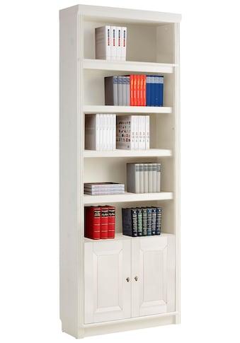Home affaire Bücherregal »Cliff«, Höhe 220 cm, mit 2 Holztüren kaufen