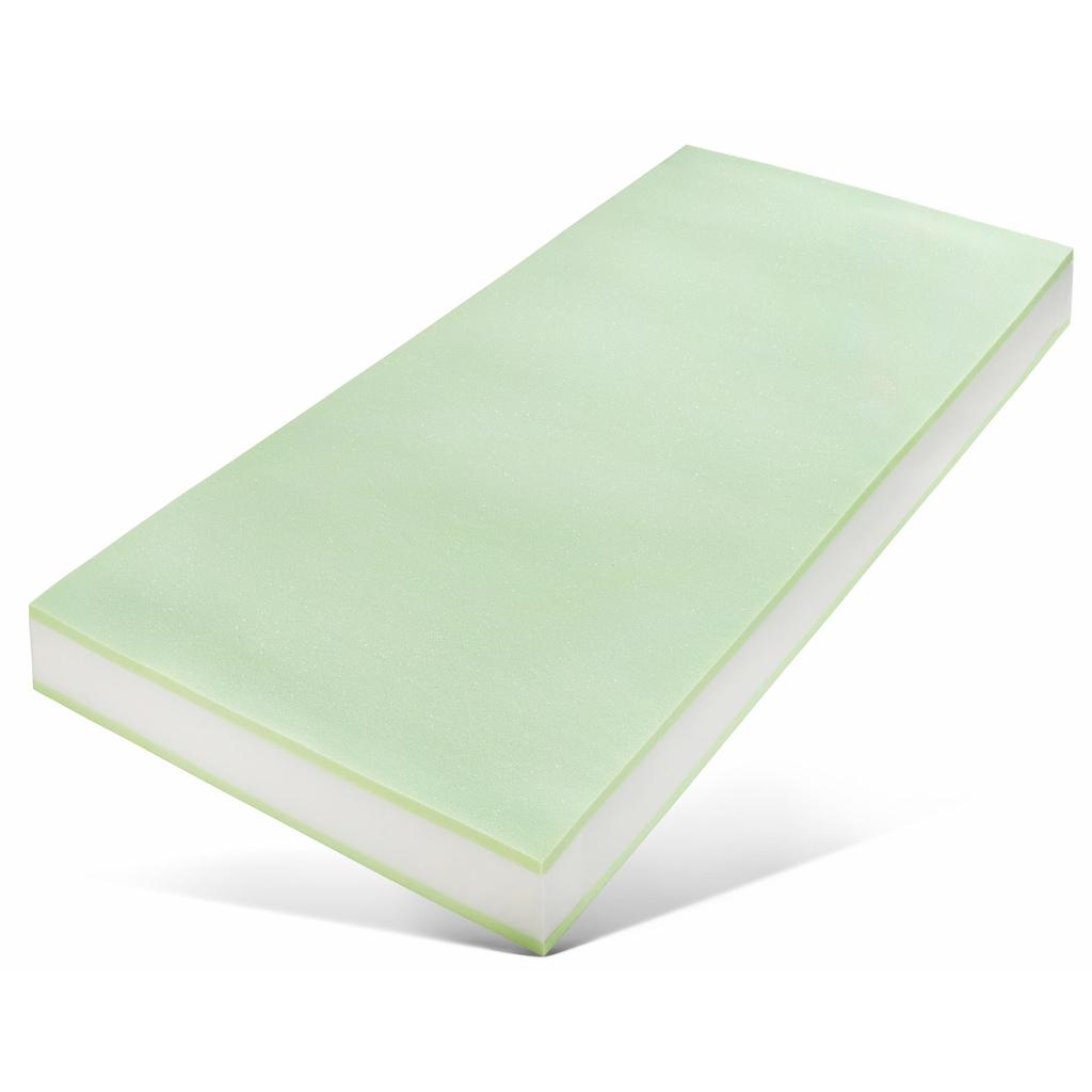 Breckle Taschenfederkernmatratze »Komfort«, 19 cm cm hoch, 420 Federn, (1 St.), 7-Zonen Taschenfederkernmatratze, sehr gutes Preisleistungsverhältnis - Qualität zum Spitzenpreis, Made in Germany
