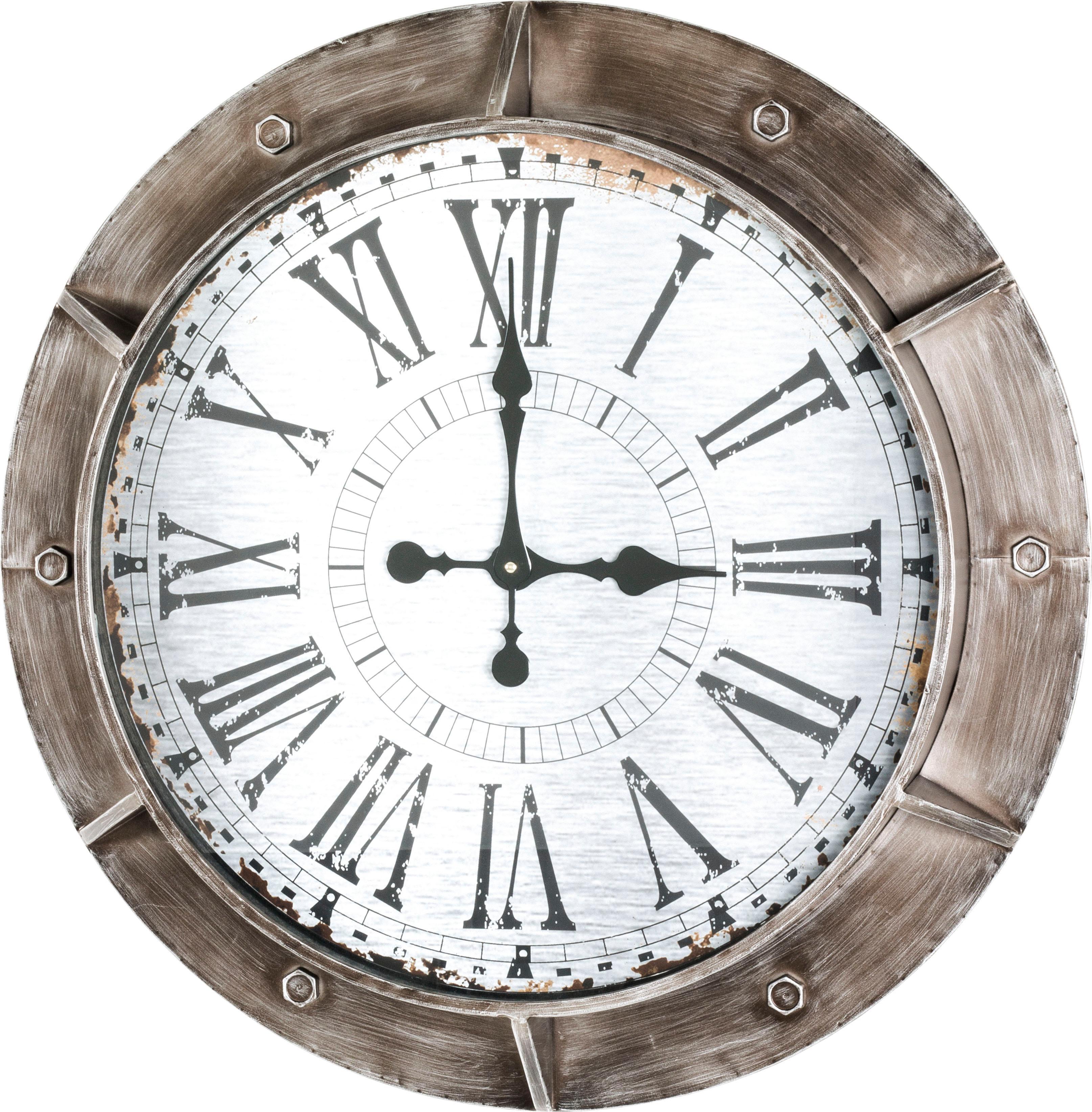 HAKU Wanduhr Wohnen/Accessoires & Leuchten/Wohnaccessoires/Uhren/Wanduhren