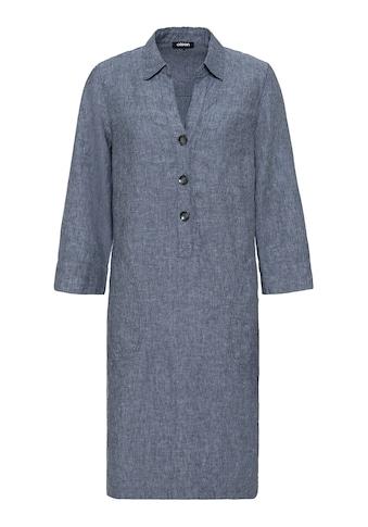 Olsen Sommerkleid, mit großen Knöpfen und versteckten, seitlichen Eingrifftaschen kaufen