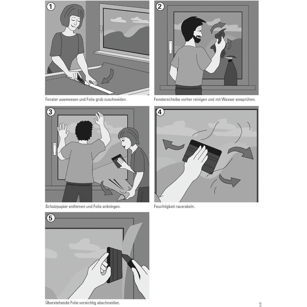 GARDINIA Fensterfolie »Privacy 75«, 1 St., blickdicht, statisch haftend