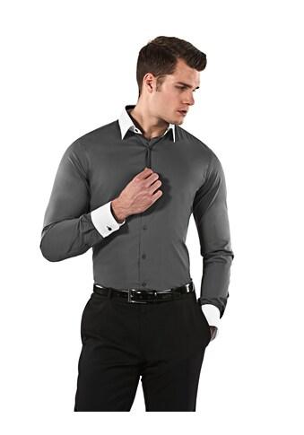 Vincenzo Boretti Businesshemd mit bügelleichter Eigenschaft kaufen