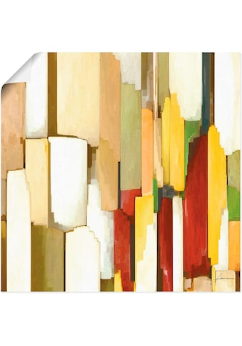 Artland Wandbild »Monument III«, Muster, (1 St.), in vielen Größen & Produktarten -... kaufen