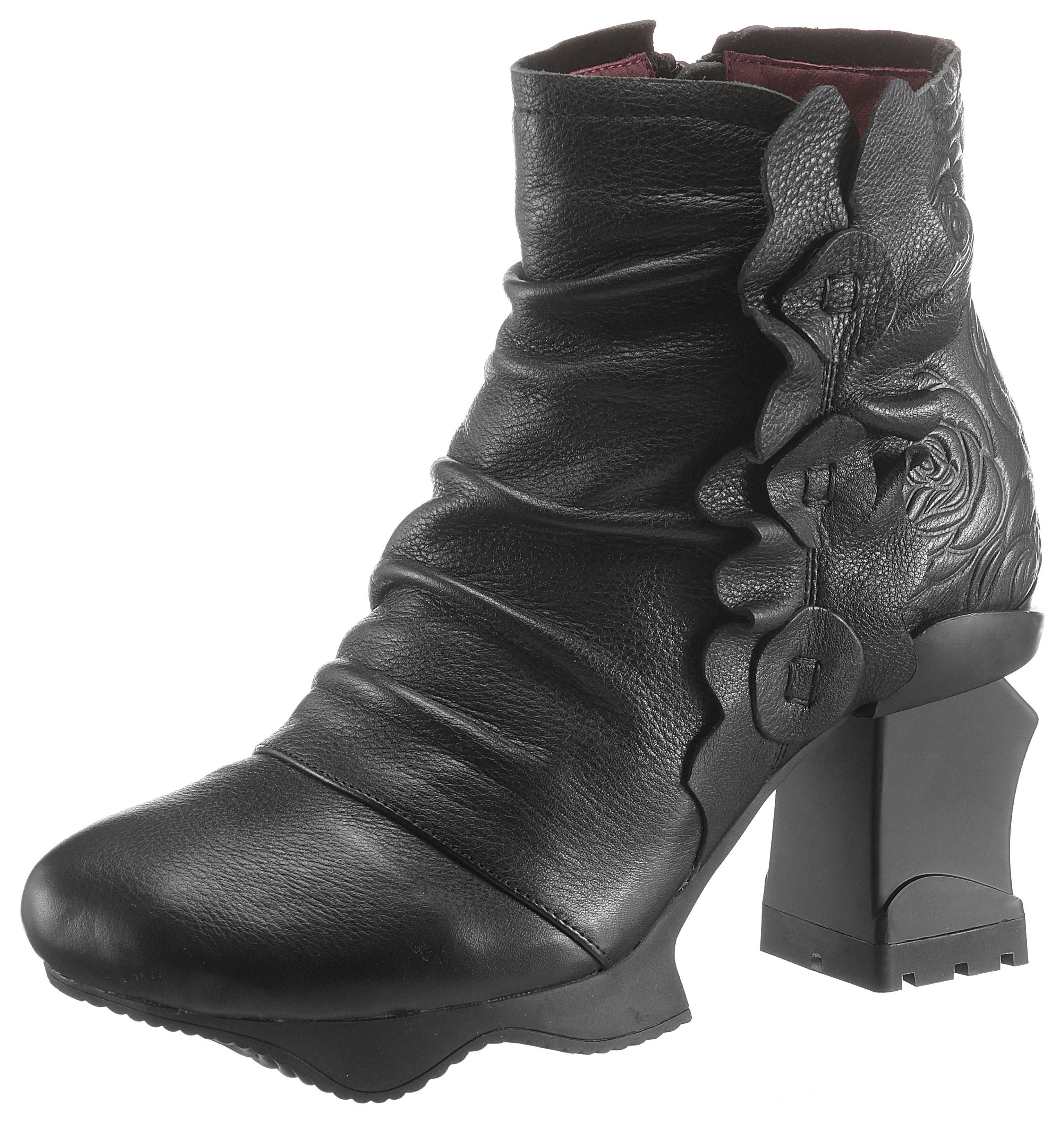 LAURA VITA Plateaustiefelette | Schuhe > Stiefeletten > Plateaustiefeletten | laura vita