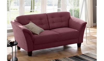 Home affaire 3-Sitzer »Lillesand«, mit Federkern, Knopfheftung im Rücken, Füße Buche kaufen
