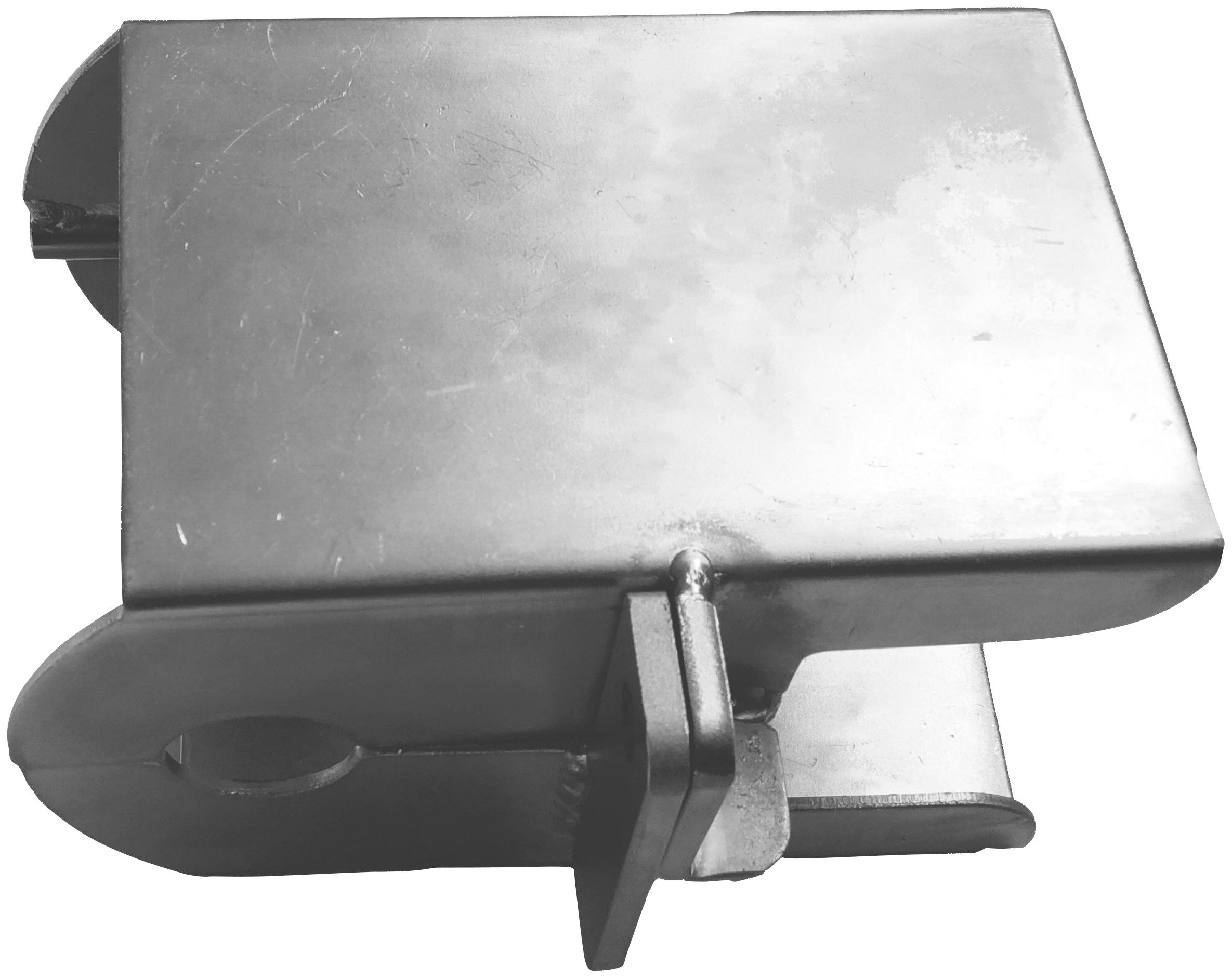 BASI Anhängerschloss silberfarben Autoanhänger Autozubehör Reifen