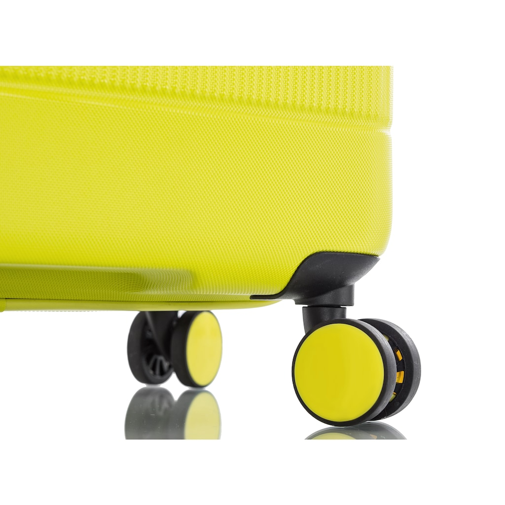 Heys Hartschalen-Trolley »Neo, 76 cm«, 4 Rollen, mit Volumenerweiterung
