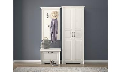 Home affaire Garderobenschrank »Evergreen«, hochwertig UV lackiert, mit Soft-Close-Funktion und ausziehbarer Kleiderstange kaufen