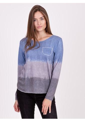 Key Largo Langarmshirt, im stylischen Colour-Blocking-Design kaufen