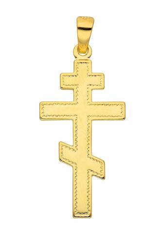 Adelia´s Kettenanhänger »585 Gold Kreuz Anhänger« kaufen