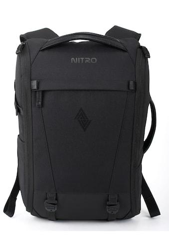 NITRO Freizeitrucksack »Remote, Black« kaufen