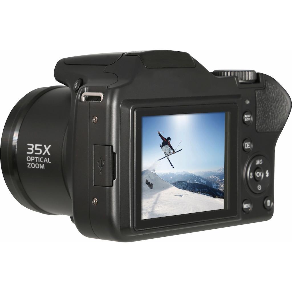 Rollei »Powerflex 350« Superzoom-Kamera (16 MP, 35x opt. Zoom, WLAN (Wi-Fi))