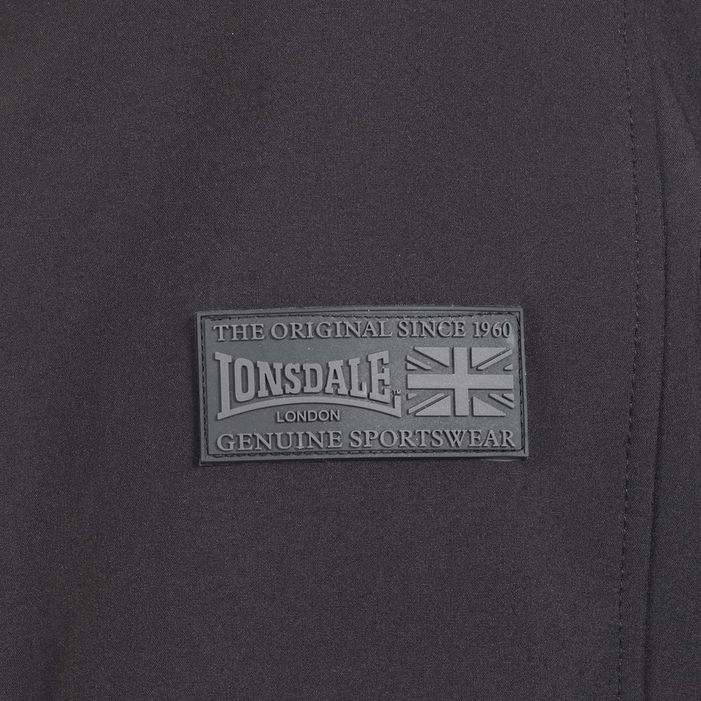 Lonsdale Softshelljacke mit Kapuze