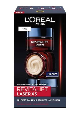 L'ORÉAL PARIS Gesichtspflege-Set »RevitaLift Laser X3 Tag und Nacht«, (2 tlg.) kaufen