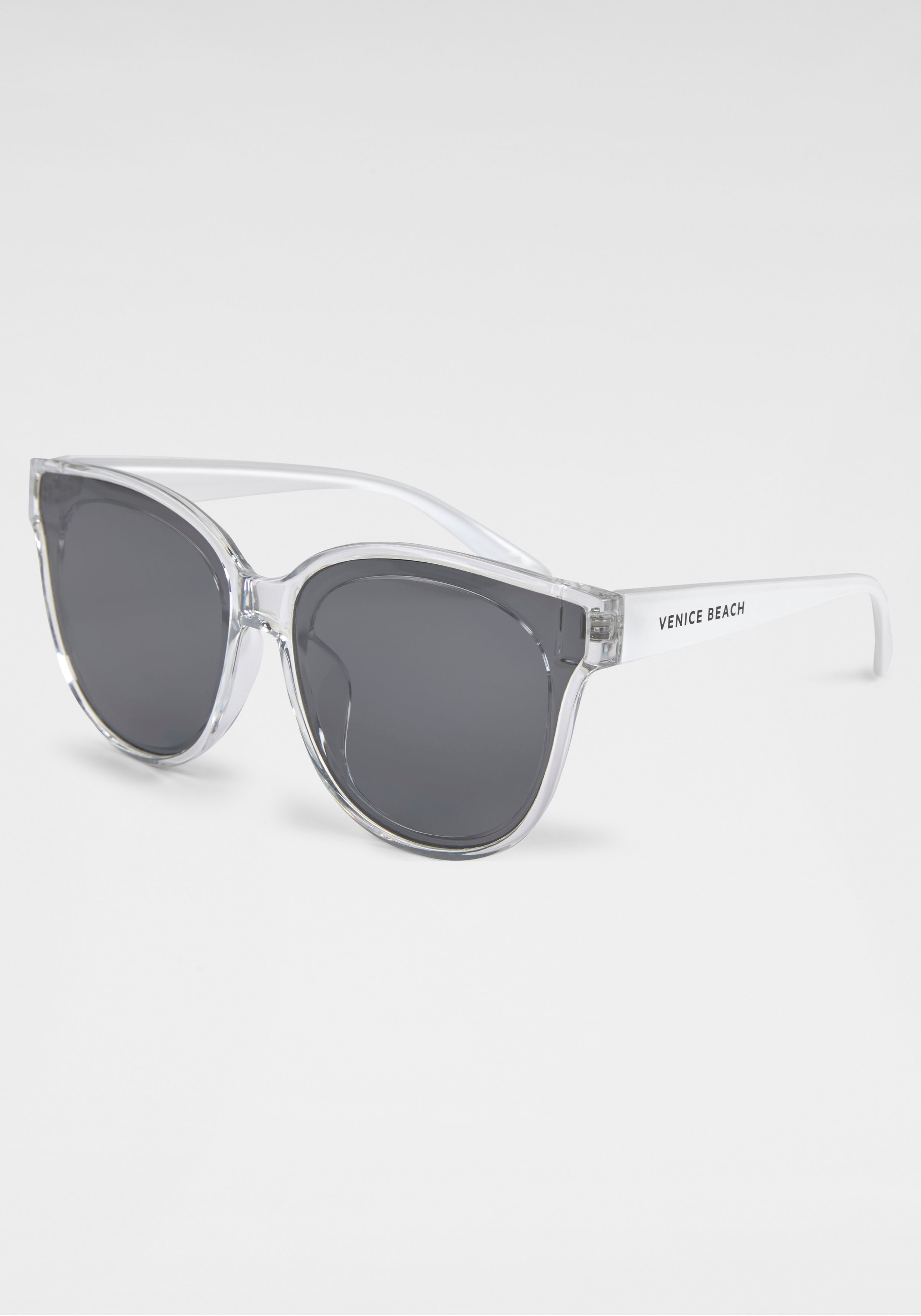 Venice Beach Sonnenbrille, im Cat-Eye Style weiß Damen Ovale Sonnenbrille Sonnenbrillen Accessoires