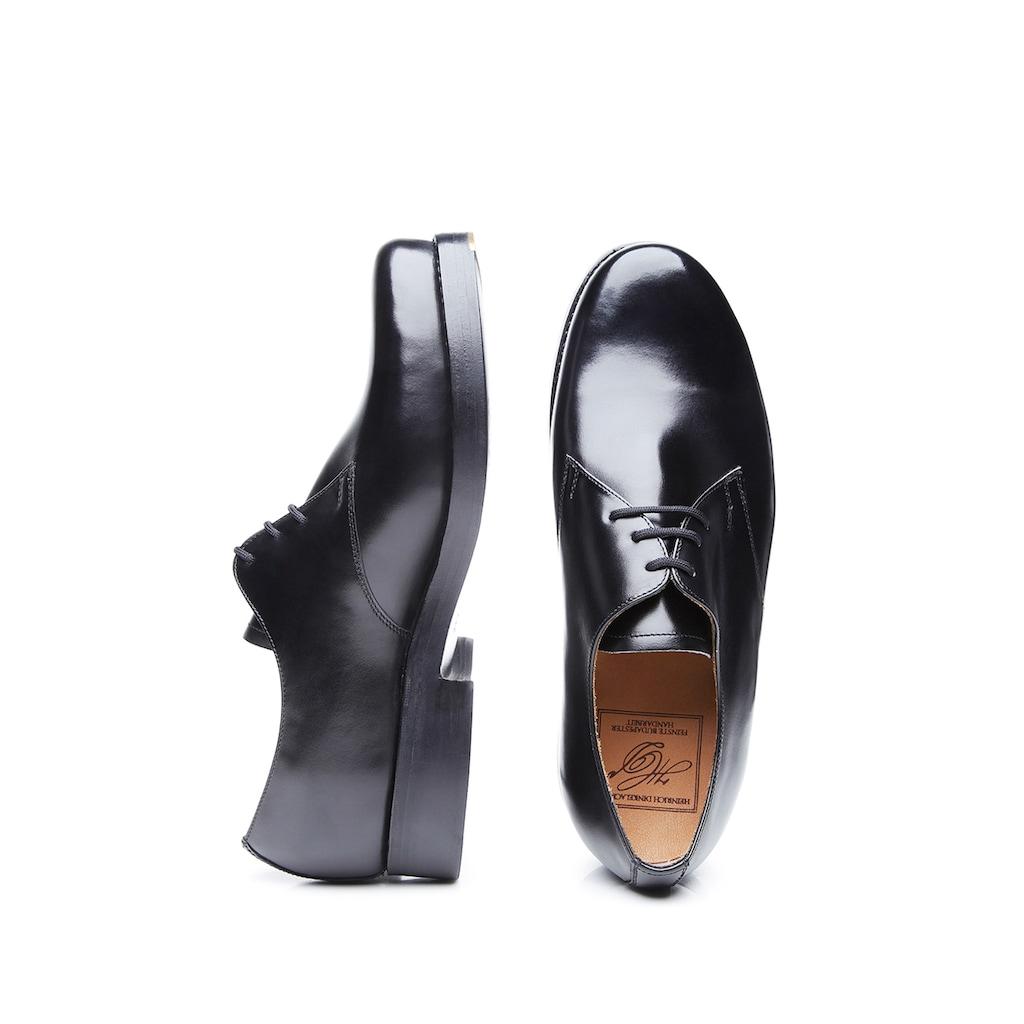Heinrich Dinkelacker Schnürschuh »Rio Plain BC«, Wahre Schuhmacherkunst aus Budapest