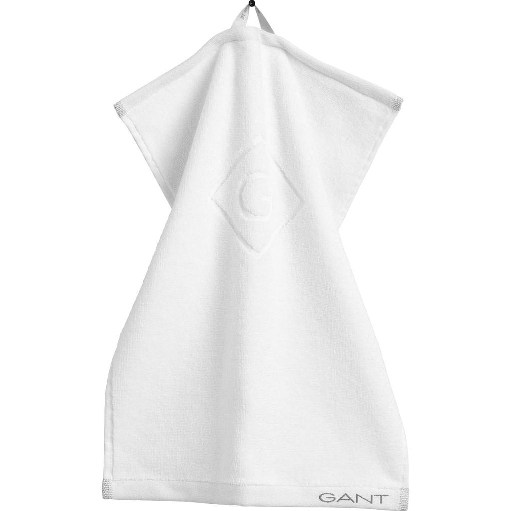 Gant Gästehandtücher »Organic G«, (3 St.)