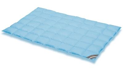 SPESSARTTRAUM Daunenbettdecke »Komfort«, extraleicht, Füllung 60% Daunen, 40% Federn, Bezug 100% Baumwolle, (1 St.), hergestellt in Deutschland, allergikerfreundlich kaufen