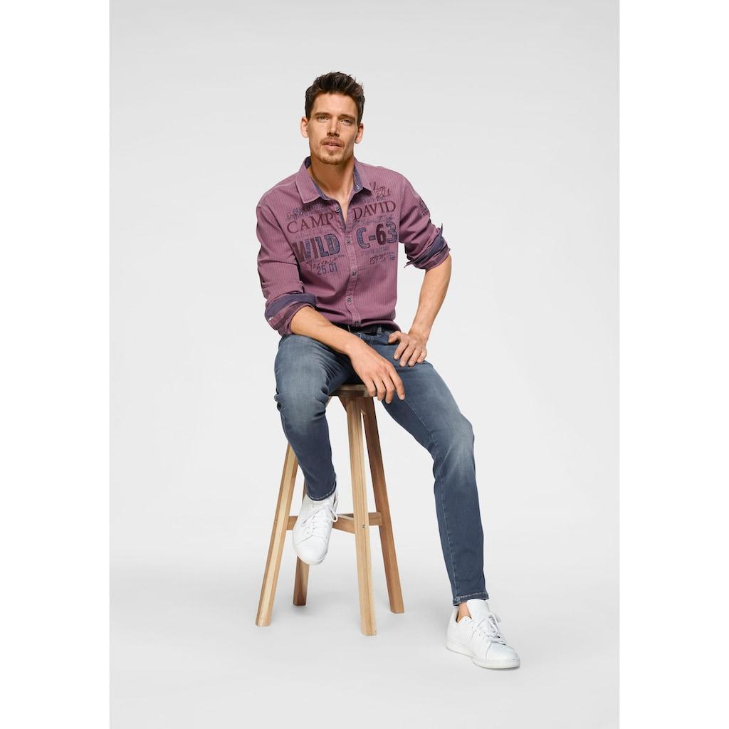 CAMP DAVID Regular-fit-Jeans »DA:VD:R622«, mit Stretch-Anteil
