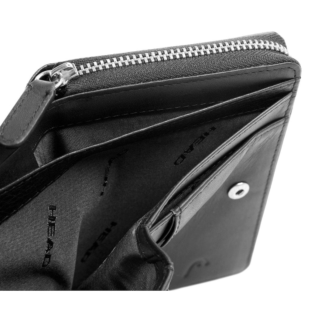 Head Geldbörse »GILDE-RFID«, umlaufender Reißverschluss