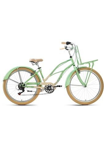 KS Cycling Cruiser »Kahuna«, 6 Gang, Shimano, Tourney Schaltwerk, Kettenschaltung kaufen