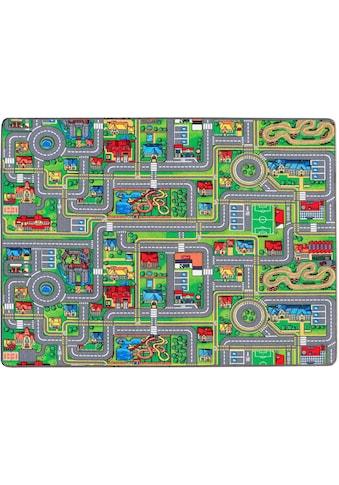 Primaflor-Ideen in Textil Kinderteppich »STREETS«, rechteckig, 5 mm Höhe,... kaufen