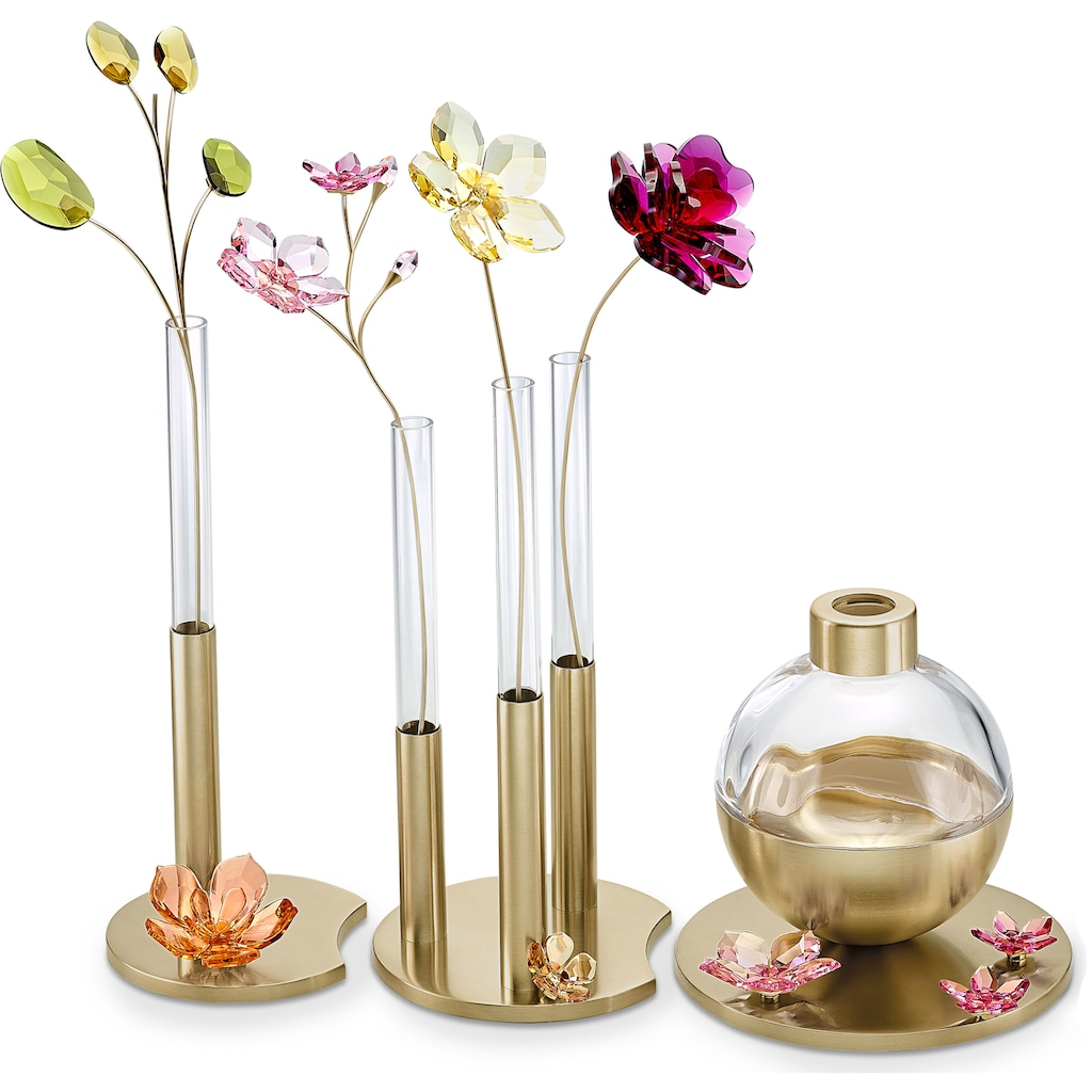 Swarovski Dekoobjekt »Garden Tales Dekorative Vase, klein, 5557808«, Swarovski® Kristall